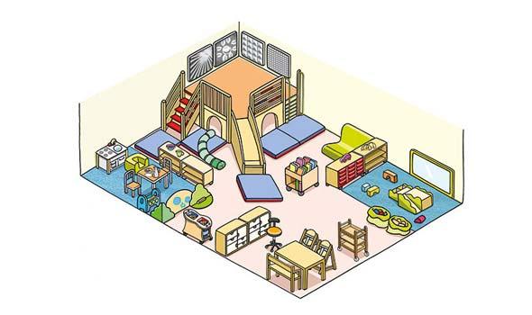 Kinderm bel von betzold die sichere wahl for Raumgestaltung in der krippe