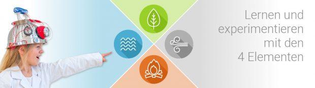 Experimentieren mit den 4 Elementen