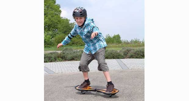 Skateboards im Sportunterricht