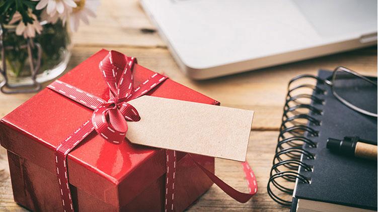Geschenk an Lehrer