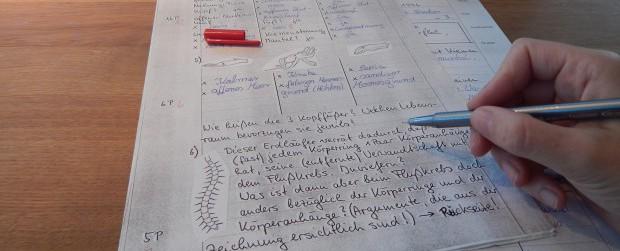 Klassenarbeiten erstellen