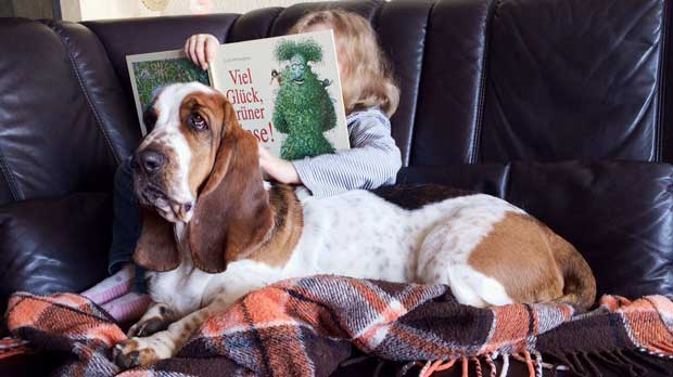 Leseförderung mit Hund