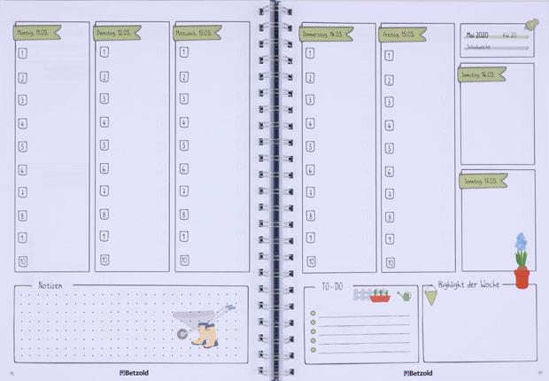 Design-Ringbuchplaner