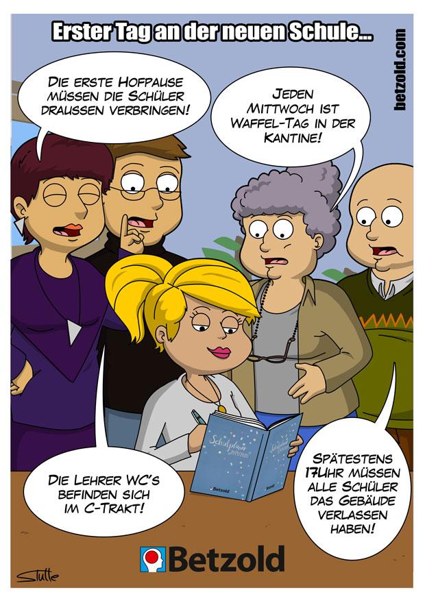 Cartoon Gewinnspiel