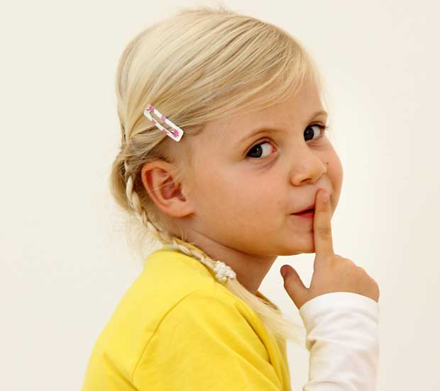 Psst! Lärm in Schulen vermeiden.