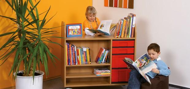 Leseecke im Klassenzimmer