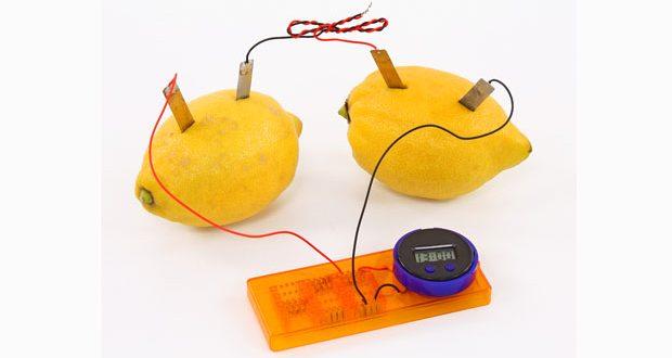 Zitronenbatterie